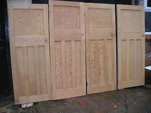 Reclaimed 1 over 3 panel internal interior 1930 39 s doors for 1 over 3 panel door