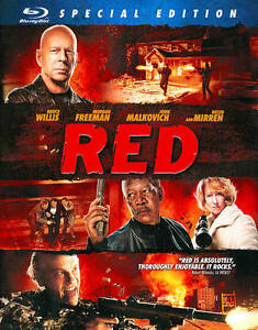 Red (Blu-ray Disc, 2011, Special Edition...