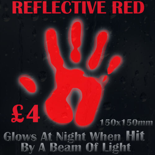 Red Reflective Colour