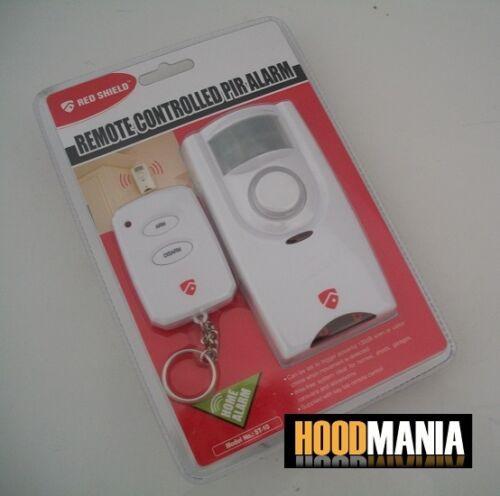 Red Shield Wire Free Home Security Intruder Burglar Alarm