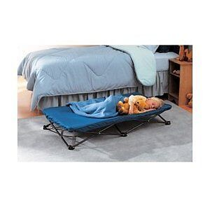 Baby's Folding Bed : ... Regalo Portable Childrens Toddler Kids Folding Nap Sleeping Bed 48