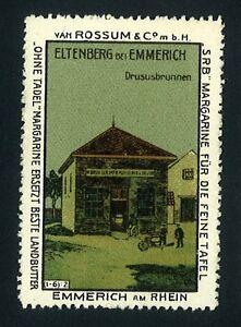 Reklamemarke-Werbemarke-Eltenberg-bei-Emmerich-a-R-Drususbrunnen-276