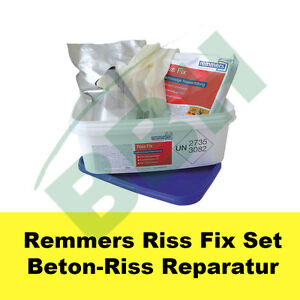 remmers epoxy riss fix set epoxidharz injektionsharz beton. Black Bedroom Furniture Sets. Home Design Ideas