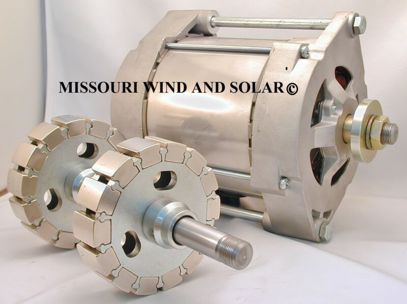 permanent magnet alternator thesis A permanent magnet alternator is a modified car alternator in which the electro-magnet in the rotor of the alternator has been replaced with a very strong neodymium rare earth magnet.