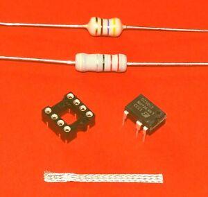 Reparatur-Set-LNK304PN-IC-Sockel-22-Ohm-Widerstand-470-H-Spule-Entloetlitze