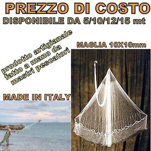 Rete rezzaglio iacco sparviero rete da pesca mare muggine - Rete da pesca per decorazioni ...