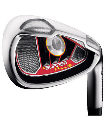 Rh TaylorMade Burner Plus Irons Steel Shaft New In Box! in Sporting Goods, Other | eBay