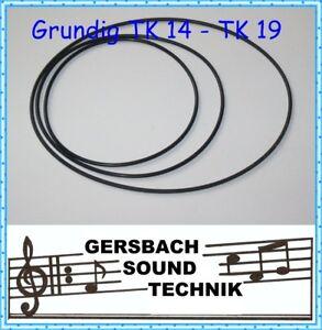 Riemensatz-Grundig-Tonband-TM-19-Rubber-drive-belt-kit
