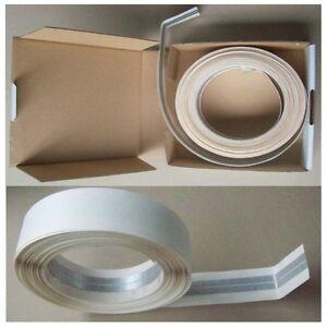 rigips alu zink kantenschutz spachtelecke auf rolle ebay. Black Bedroom Furniture Sets. Home Design Ideas