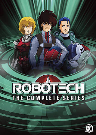 Robotech The Complete Series DVD, 2011, 17 Disc Set