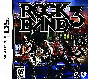 Rock Band 3  (Nintendo DS, 2010)