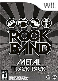 Rock Band: Metal Track Pack  (Nintendo W...