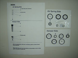 Rock-Shox-Reba-Race-O-rings-Seals-Crush-Washer-kit