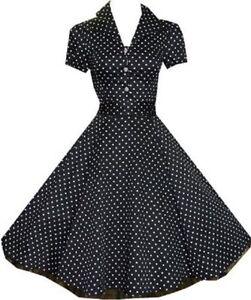 rockabilly kleid polka dots petticoat kleid abendkleid. Black Bedroom Furniture Sets. Home Design Ideas