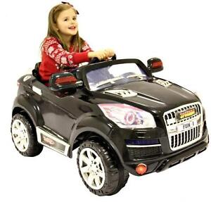 Rocket Suv Kids Battery Electric Ride On Jeep Car Range Rover Audi Style 12v Ebay