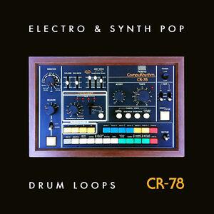 roland cr 78 vintage drum machine loops samples electro synth pop 24 bit wav ebay. Black Bedroom Furniture Sets. Home Design Ideas