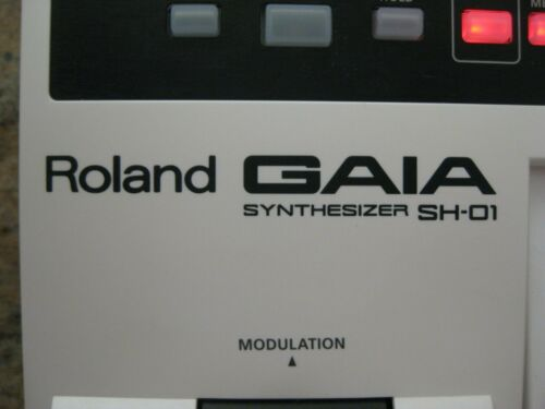 Roland GAIA SH-01 Synthesizer Virtual Analog Synth No Reserve! in Musical Instruments & Gear, Electronic Instruments, Synthesizers | eBay