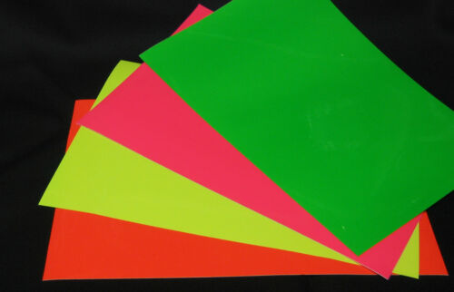 Roll of Neon Sign Vinyl, Choose Your Color and Size. Fluorescents!!! in Crafts, Other Crafts | eBay