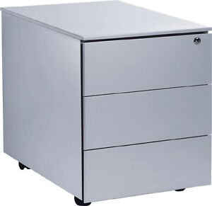 rollcontainer auf rollen schreibtisch container mit. Black Bedroom Furniture Sets. Home Design Ideas