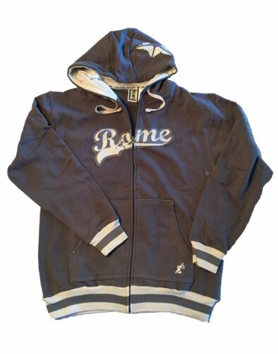new product c4bd5 3090a Details about Rome Snowboards Fenway Full Zip Hoodie Sweatshirt in Gray -  Small - New!