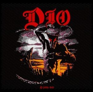ronnie james dio holy diver patch aufn her heavy metal. Black Bedroom Furniture Sets. Home Design Ideas
