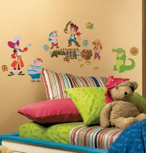 Roommates Rmk1778scs Jake And The Neverland Pirates Wall Decals Stickers Decor In Home
