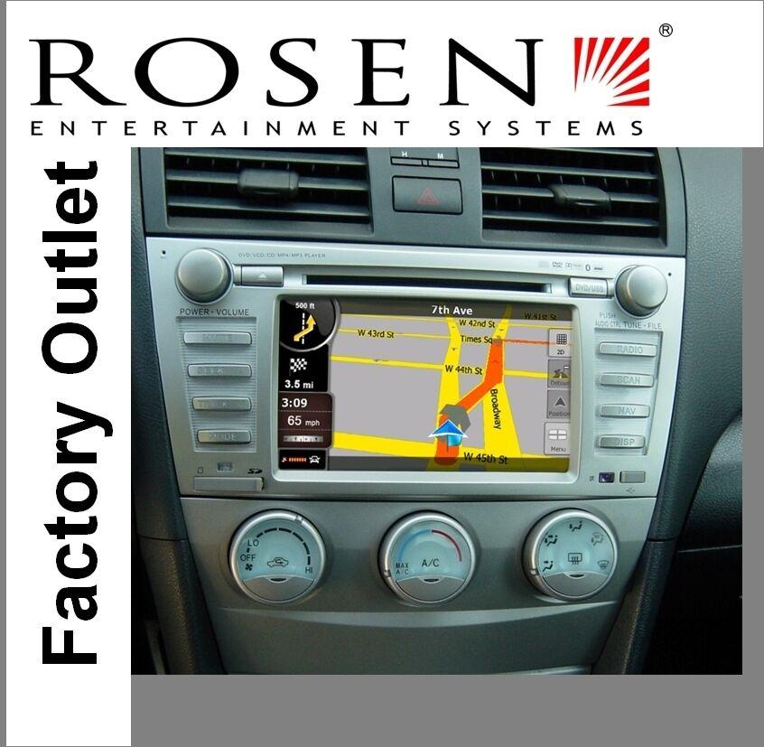 In Dash Navigation System : Toyota camry in dash din multi media navigation gps