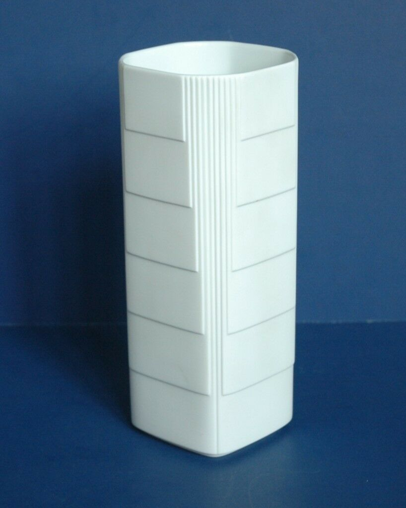 Old Nelson McCoy Matte White Pottery Vase from cobayley on Ruby Lane