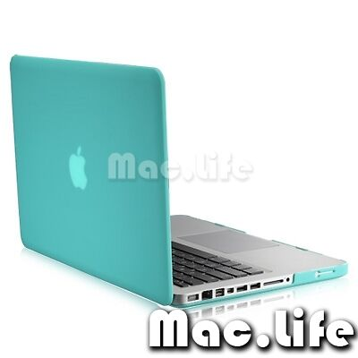 "Rubberized Hard Case Color in TIFANY BLUE for Apple Macbook PRO 13"" 13.3(A1278) in Computers/Tablets & Networking, Laptop & Desktop Accessories, Laptop Cases & Bags 