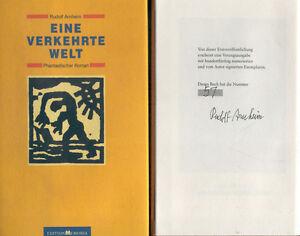 Rudolf-Arnheim-Eine-verkehrte-Welt-Leinen-geb-Vorzugsausgabe-Nr-57-150-sign