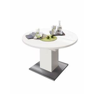 runder tisch k chentisch rund esstisch ausziehtisch. Black Bedroom Furniture Sets. Home Design Ideas