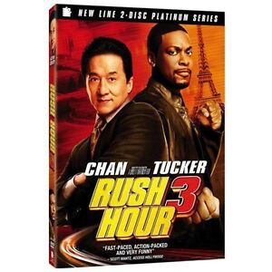 Rush Hour 3 (DVD, 2007, 2-Disc Set, Spec...