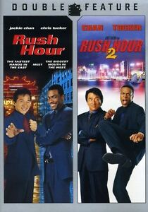 Rush Hour/Rush Hour 2 (DVD, 2008)