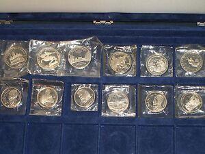 Russland-Muenzen-Sammlung-1-3-5-Rubel-Cu-Ni-12-Stueck-im-BOX