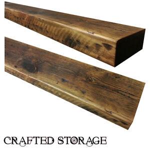 Rustic Floating Shelf Reclaimed Wood Mantel Shelves Custom Pine   eBay