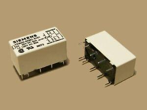 s009 miniatur relais bistabil 2x um wechsler mit 2. Black Bedroom Furniture Sets. Home Design Ideas