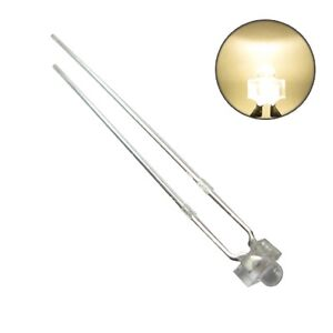 S182-10-Stueck-Miniatur-Mini-LEDs-1-8mm-warmweiss-LED-warm-white