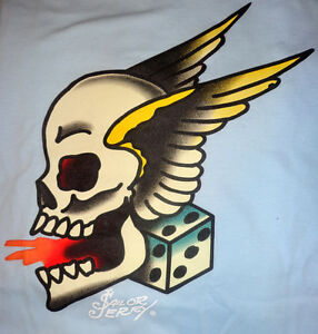 sailor jerry flash skull  eBay