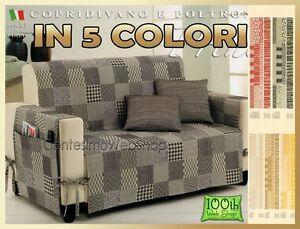 Salvadivano 2 posti copridivano stuoia jacquard 5 colori copri divano due 732 ebay - Copridivano per divano angolare ...