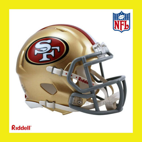SAN FRANCISCO 49ERS NFL MINI REVOLUTION SPEED FOOTBALL HELMET by RIDDELL in Sports Mem, Cards & Fan Shop, Fan Apparel & Souvenirs, Football-NFL | eBay