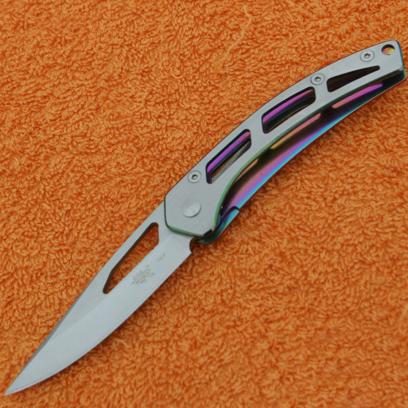 SANRENMU SRM High Quality Steel Folding Knife WL5 721P