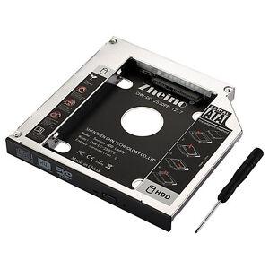 sata 2 5 hdd festplatten caddy einbau rahmen adapter 12. Black Bedroom Furniture Sets. Home Design Ideas