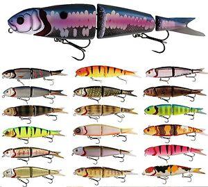 SAVAGE-GEAR-4Play-Swim-Jerk-9-5cm-13cm-19cm-Farbe-waehlbar-Wobbler-NEU-OVP