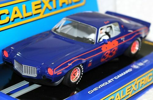 SCALEXTRIC C3065 70 CHEVROLET CAMARO NEW 1/32 SLOT CAR
