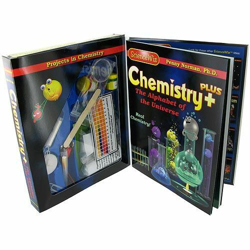 Sciencewiz Chemistry Plus Educational Kids Science Kit Scientific Explorer
