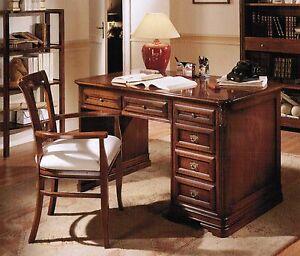 Scrivania scrittoio classica ufficio in vari colori for Scrittoio per ufficio