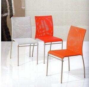 Sedia sedie poltrone tavoli cucina cucine metallo tavolo for Sedie da cucina in metallo