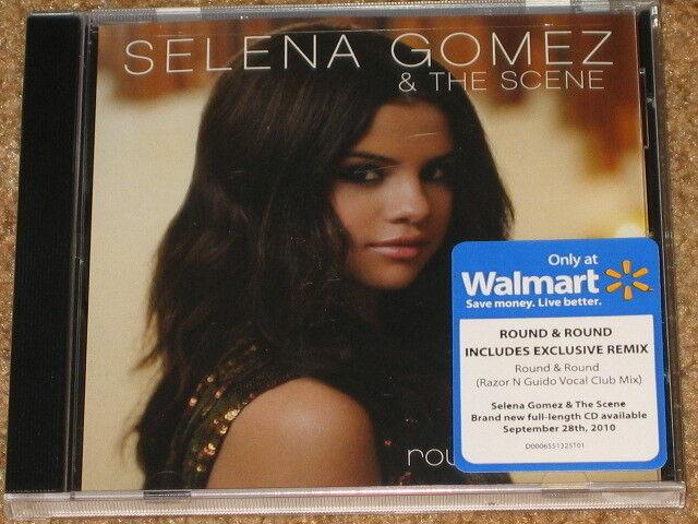 SELENA GOMEZ Round Round  Pre Sale CD w EXCLUSIVE REMIX RARE