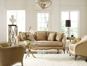 serena european traditional tufted fabric sofa couch chair