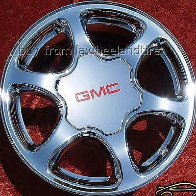 "Set of 17"" GMC Sierra Yukon Denali Suburban Chrome Wheels Rims Exchange 5126"